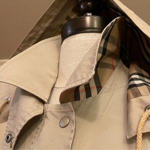 Burberry Vintage Nova Check Trench Jacket